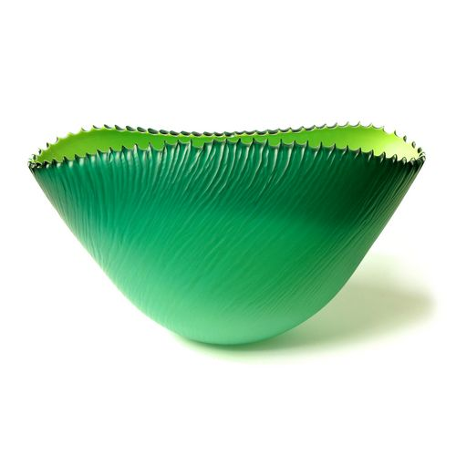 Large Fin Bowl Lime/Green