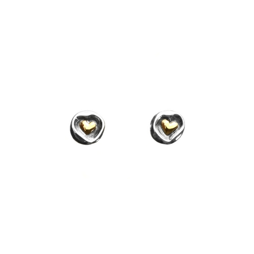 Earrings Stud GP Hrt in Hrt
