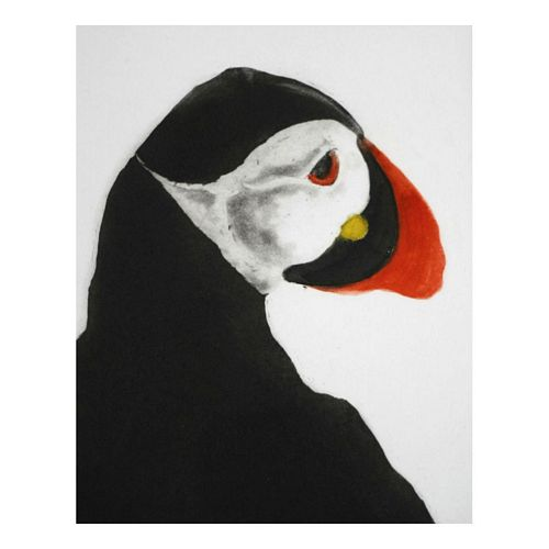 Nuffin but Puffin Unframed 10/160