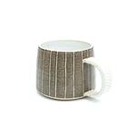 Brown Stripy Mug