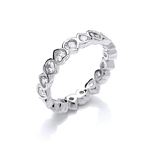 Heart CZ Ring