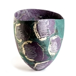 Elderberry & Teal II Vessel