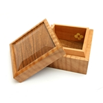 Jewellery Box French Walnut/Pear Wood