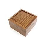 Jewellery Box English Walnut/Sycamore
