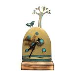 Clock/ Blue Bird and Tree