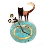 Clock Large Cat