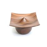 "4"" Pagoda Lidded Box Round"