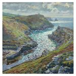 Evening Light, Boscastle