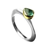 Ring 1ct Green Tourmaline