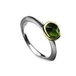 Ring 1.5ct Green Amethyst