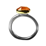 Ring 2ct Imperial Topaz