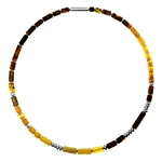 Amber Tube Necklace