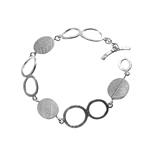 Oval Leaf Bracelet