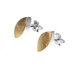 Pointed Oval Studs