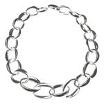 Large Linked Chain Neckace