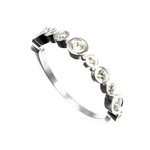 Eternity Ring with Multiple Cubic Zirconias