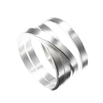 Ring Loop Irregular Band